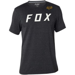 Fox Racing Grizzled Tech Short Sleeve T-Shirt - Heather Black