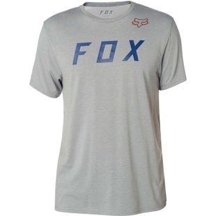 Fox Racing Grizzled Tech Short Sleeve T-Shirt - Heather Grey
