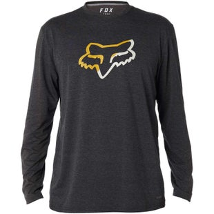 Fox Racing Planned Out Tech Long Sleeve T-Shirt - Heather Black