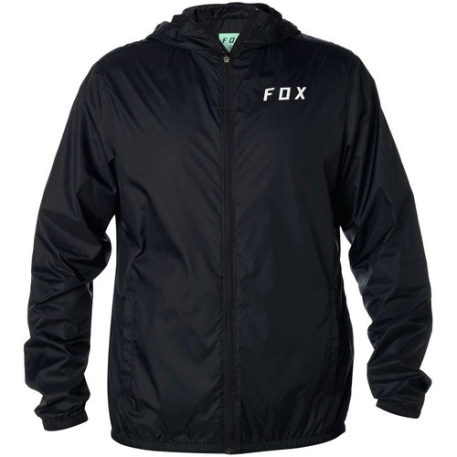 Fox Racing Attacker Windbreaker , Jakke - Black