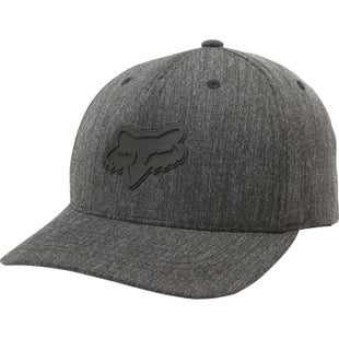 Fox Racing Heads Up 110 Snapback Cap - Heather Black