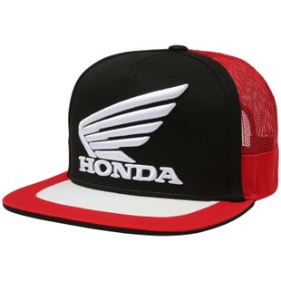 Fox Racing Honda Snapback Cap - Black Red