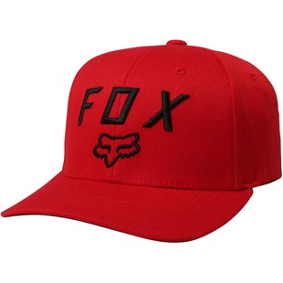 Fox Racing Legacy Moth 110 Snapback Cap - Dark Red