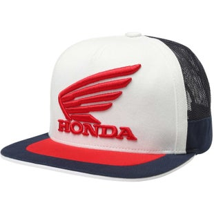 Fox Racing Honda Snapback Cap - Navy White