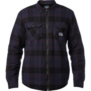 Fox Racing Torrent Flannel Shirt - Midnight