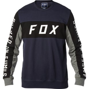 Fox Racing Rhodes Crew Sweater - Midnight
