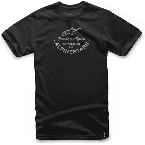 Alpinestars And Short Sleeve T-Shirt - Black
