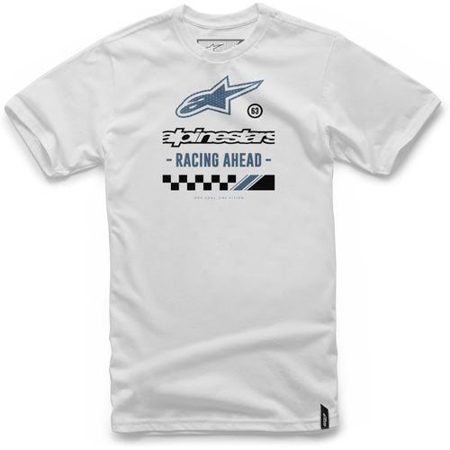 Alpinestars Ahead Short Sleeve T-Shirt - White