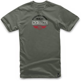 Alpinestars Jefe Short Sleeve T-Shirt - Military Green