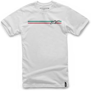 Alpinestars Finish Short Sleeve T-Shirt - White