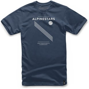 Alpinestars Monaco Short Sleeve T-Shirt - Navy
