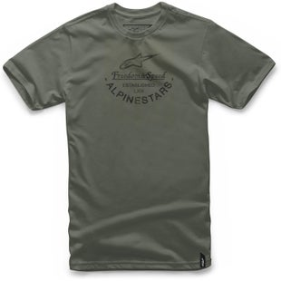 Camiseta de manga corta Alpinestars And - Military Green