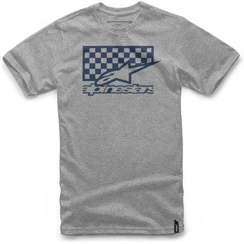 Alpinestars Checkbox Short Sleeve T-Shirt - Athletic Heather