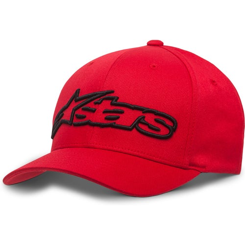 Alpinestars Blaze Flexfit , Cap - Red Black