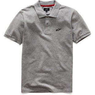 Alpinestars Effortless Polo Shirt - Grey Heather
