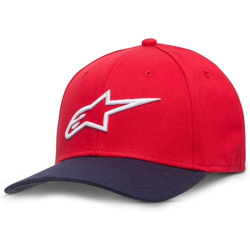 Alpinestars Ageless Curve Cap - Red Navy