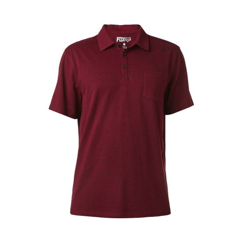 Fox Racing Legacy Polo Shirt - Heather Burgundy