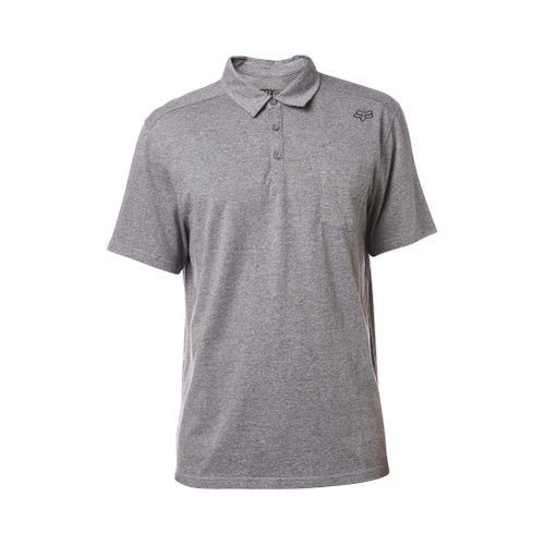 Fox Racing Legacy Polo Shirt - Heather Graphite