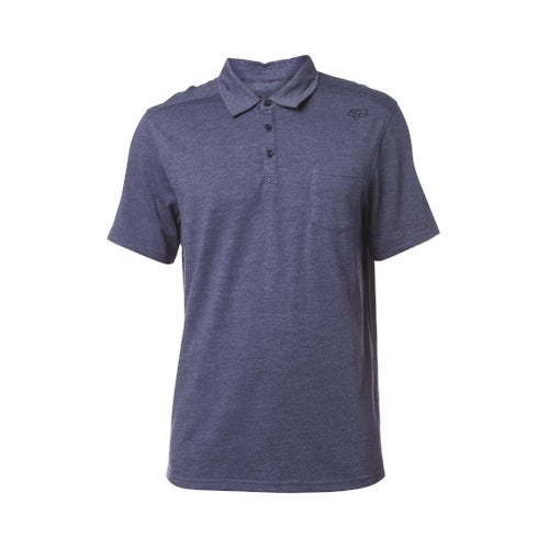 Fox Racing Legacy Polo Shirt - Heather Navy