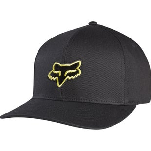 Fox Racing Legacy Flexfit Cap - Black Yellow