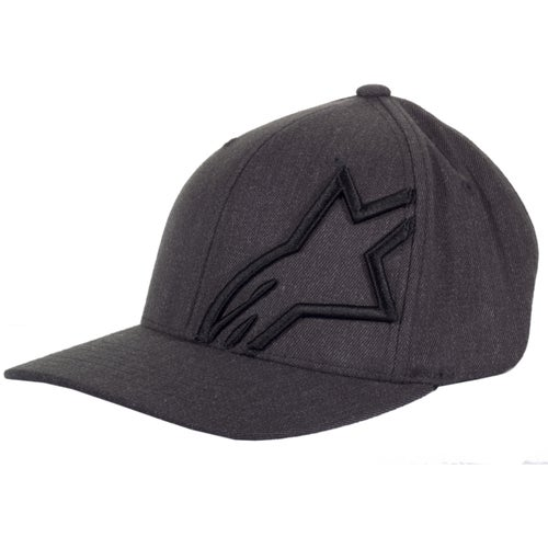 Alpinestars Corp Shift 2 Flexfit , Cap - Dark Heather Grey Black
