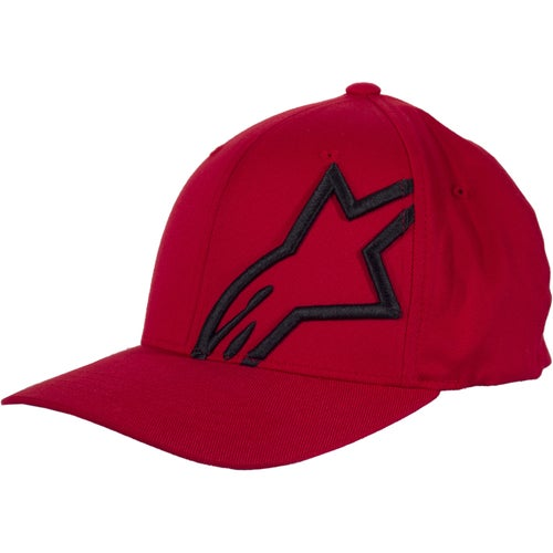 Alpinestars Corp Shift 2 Flexfit , Cap - Red Black
