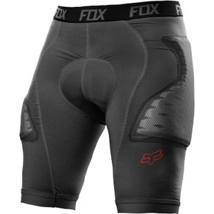 Fox Racing Titan Race Protective Shorts - Charcoal