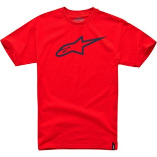 Alpinestars Ageless Classic Short Sleeve T-Shirt - Red Black