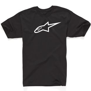 Alpinestars Ageless Classic Short Sleeve T-Shirt - Black White