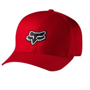 Fox Racing Legacy Flexfit Cap - Red