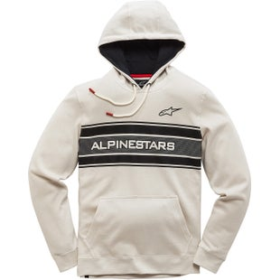 Alpinestars Pole Pullover Hoody - Off White