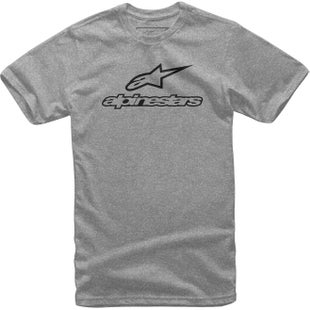 Camiseta de manga corta Alpinestars Always - Grey Heather/black
