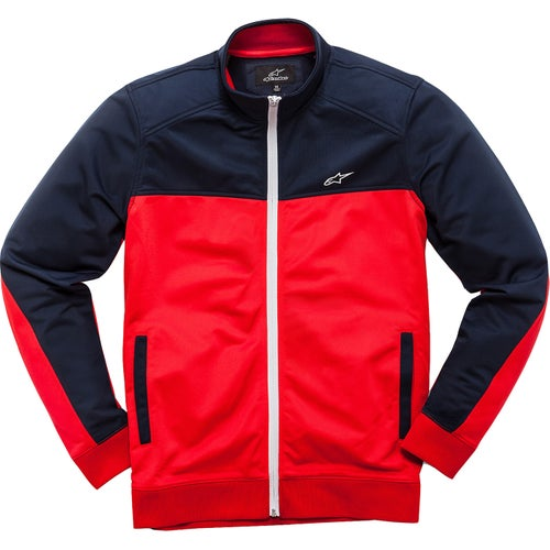 Alpinestars Pace Track Bike Jacket - Red Navy