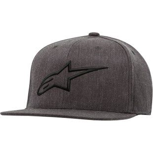 Alpinestars Ageless Flat Cap - Charcoal Heather/black
