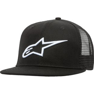 Alpinestars Corp Trucker Cap - Black/white