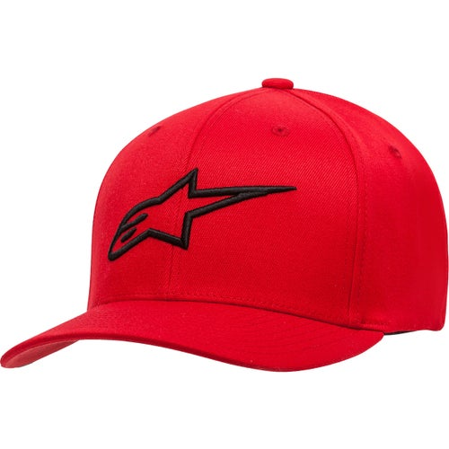 Alpinestars Ageless Curve , Cap - Red/black