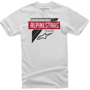 Alpinestars Path Short Sleeve T-Shirt - White