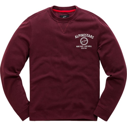 Alpinestars Gear Sweater - Burgundy