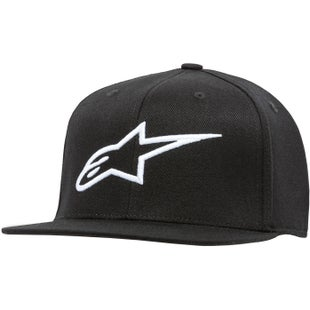 Alpinestars Ageless Flat Cap - Black/white