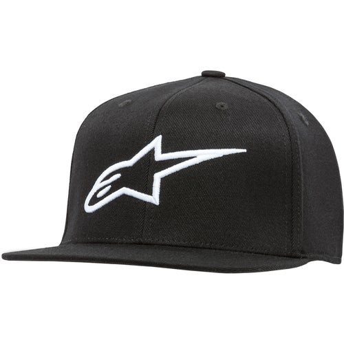 Alpinestars Ageless Flat , Cap - Black/white