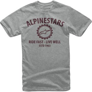 Camiseta de manga corta Alpinestars Big Gear - Grey Heather