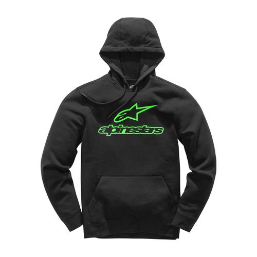 Alpinestars Always Ii Hoody met Rits - Black/green