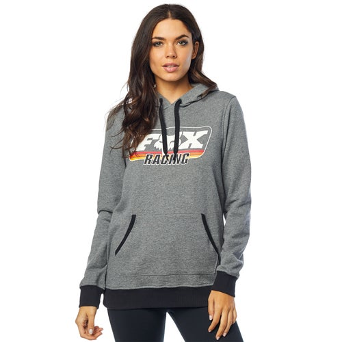 Fox Racing Retro Fox Dames Pullover Hoody - Htr Graph