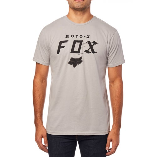 Fox Racing Moto-x Premium Short Sleeve T-Shirt - Stl Gry
