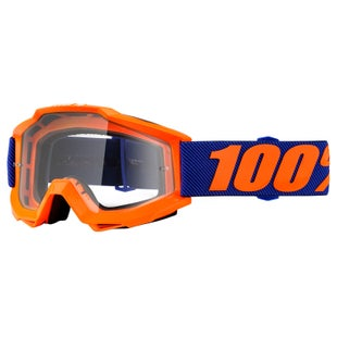 100 Percent Accuri Motocross Goggles - Origami ~ Clear Lens