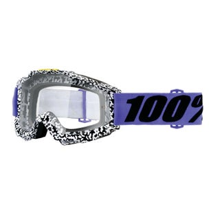 100 Percent Accuri Goggles Motocross Goggles - Brentwood - Clear Lens