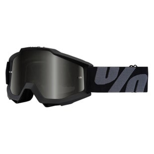 100 Percent Accuri Goggles Motocross Goggles - Superstition Black Sand - Dark Smoke