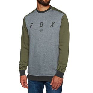 Fox Racing Destrakt Crew Sweater - Htr Graph