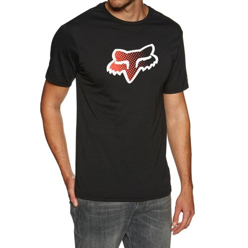 Fox Racing Murc Head Tech T-Shirt Korte Mouwen - Blk