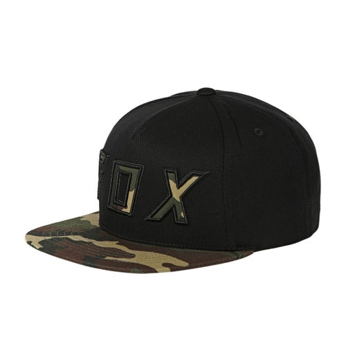 Fox Racing Posessed Snapback Cap - Blk